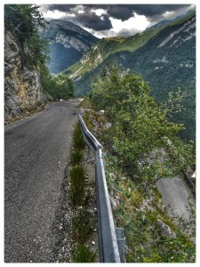 Hairpin on Col de Glieres